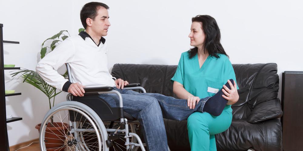 Soins à domicile pour personnes handicapées